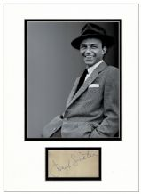 Frank Sinatra Autograph Signed Display